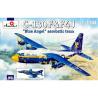 Amodel maquettes avion 1425 C-130F et F4J Blue Angel 1/144