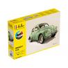 Heller maquette voiture 56762 STARTER KIT Renault 4cv inclus peintures principale colle et pinceau 1/24