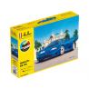 Heller maquette voiture 56738 STARTER KIT BUGATTI EB 110 inclus peintures principale colle et pinceau 1/24