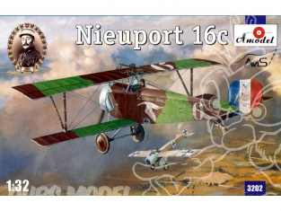 A Model maquettes avion 3202 NIEUPORT 16c 1/32