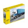 Heller maquette camion 81703 F12-20 Globetrotter & Semi-remorque à deux essieux 1/32