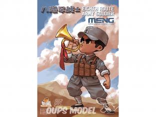 Meng maquette moe-002 Caricature Nous n'oublions jamais la tradition rouge sans collage