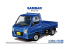 Aoshima maquette voiture 58282 Subaru TT2 Sambar Truck WR Blue Limited 2011 1/24