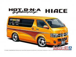 Aoshima maquette voiture 59487 Toyota Hiace TRH200V HotCompany 2012 1/24