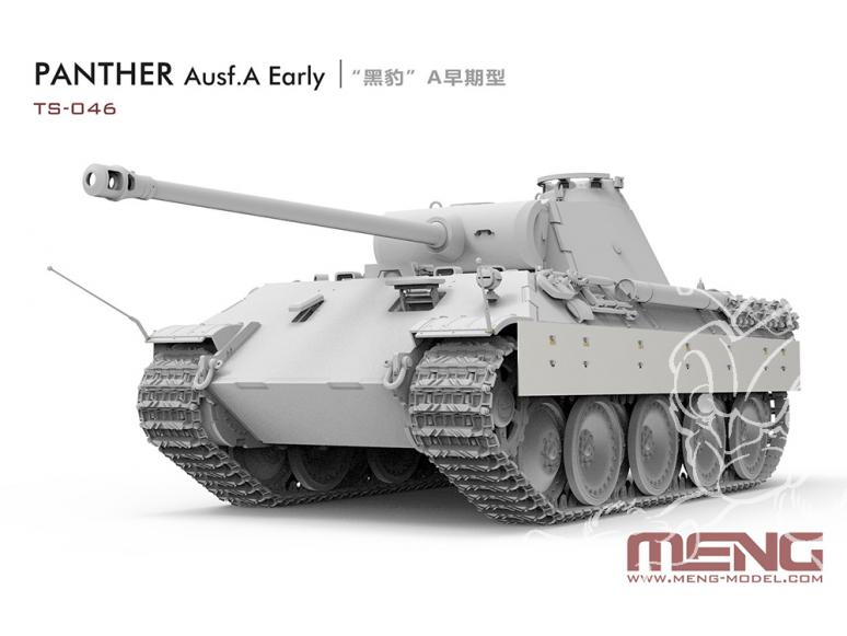 Meng maquette militaire TS-046 La panthère frappe à nouveau Sd.Kfz.171 Panther Ausf.A Early 1/35