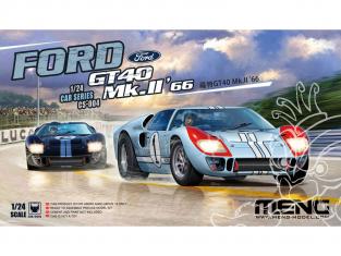 MENG CS-004 Ford GT40 Une voiture légendaire, une échelle classique 1/24