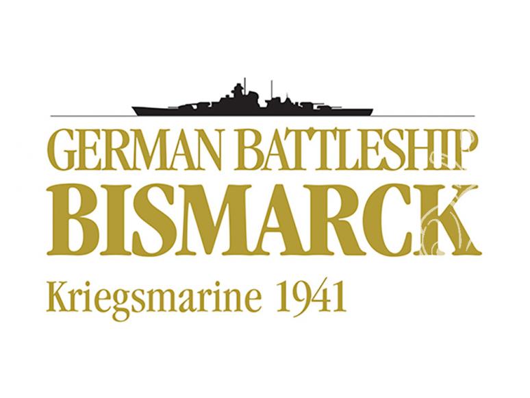 Amati bateau bois 1614 Cuirassé Bismarck Kriegsmarine 1941 1/200