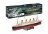 Revell maquette bateau 00458 RMS Titanic Technik 1/400