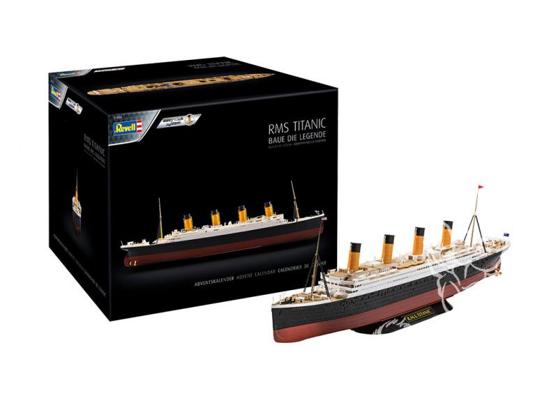 Revell kit 01038 Calendrier de l'Avent RMS Titanic 1/600
