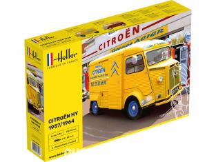 Heller maquette voiture 80744 CITROEN HY 57/64 Service Citroen 1/24