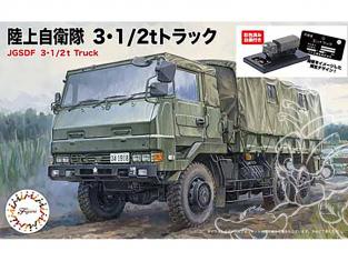 Fujimi maquette militaire 723105 Camion 3 1/2T JGSDF 1/72