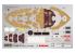 Fujimi maquette plastique bateau 423043 Cuirassé japonais Mutsu tiré de la bande dessiné Chibimaru