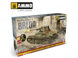 Ammo Mig maquette militaire 8506 Panzer I Breda Guerre civile Espagnole 1936 - 1939 Edition Limitée 1/35