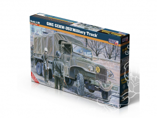 Master CRAFT maquette militaire 050986 Camion G-98 GMC CCKW-353 1/72