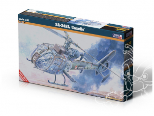 Master CRAFT maquette helicoptére 060336 SA-342L Gazelle 1/48