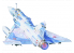 Master CRAFT maquette avion 070700 Mirage 2000C-5 1/48