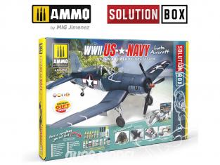 MIG Solution Box 7723 WWII US Navy Late Aircraft Couleurs et vieillissement - Livre