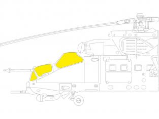 Eduard Express Mask EX806 Mi-24D TFace Eduard / Zvezda 1/48