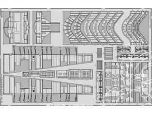 Eduard photodecoupe avion 72715 Baie de bombe Vulcan B.2 Airfix 1/72