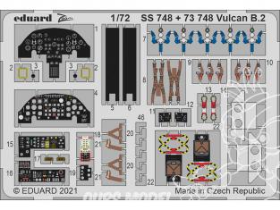 Eduard photodecoupe avion SS748 Zoom amélioration Vulcan B.2 Airfix 1/72