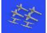 Eduard kit d'amelioration hélicoptère brassin 648675 Missiles Falanga 9M17P Eduard / Zvezda 1/48