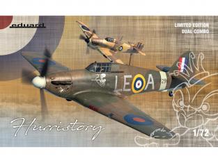 EDUARD maquette avion 2138 Hurristory - Hurricane Mk.I Edition Limitée 1/72