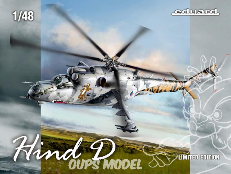 EDUARD maquette hélicoptère 11150 HIND D - Mil Mi-24D Edition Limitée 1/48