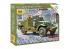 Zvezda maquette militaire 6273 Véhicule blindé de transport de troupes M3 Scout Car avec mitrailleuse 1/100