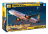 Zvezda maquette avion 7040 Avion de ligne Airbus А321seo 1/144