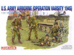 dragon maquette militaire 6148 U.S. Army Airborne (Operation Varsity 1945) 1/35