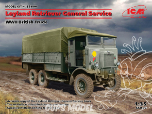 Icm maquette militaire 35600 Leyland Retriever General Service WWII British Truck 1/35