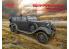 Icm maquette militaire 35530 Type G4 Partisanenwagen Véhicule allemand de la Seconde Guerre mondiale avec mitrailleuse 1/35