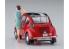 Hasegawa maquette voiture 52291 Subaru 360 Young SS avec figurine d'une filles des années 60 1/24