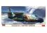 """Hasegawa maquette avion 10842 Kawasaki EC-1 """"Avion d'entraînement à la guerre électronique"""" 1/200"""