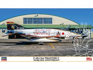 Hasegawa maquette avion 02378 F-4EJ Kai Super Phantom « 301SQ 20e anniversaire » 1/72