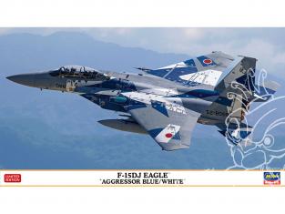 Hasegawa maquette avion 02379 F-15DJ Eagle « Aggressor Bleu / Blanc » 1/72