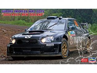 Hasegawa maquette voiture 20506 Subaru Impreza WRC 2005 « 2006 Rallye de Nouvelle-Zélande » 1/24