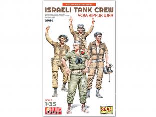 Mini Art maquette militaire 37086 ÉQUIPAGE DE CHAR ISRAÉLIEN GUERRE DE YOM KIPPOUR 1/35
