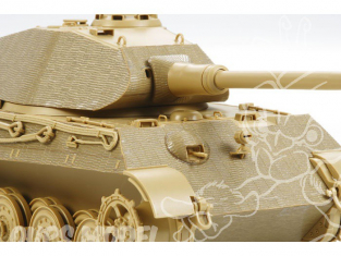 TAMIYA decalques 12649 Stickers Zimmerit King Tiger 1/35