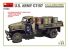 MINI ART maquette militaire 35380 U.S. ARMY G7107 4X4 1,5t CARGO TRUCK 1/35