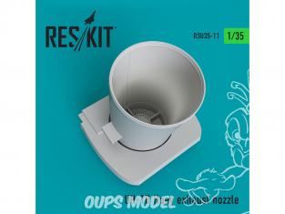 ResKit Kit RSU35-0011 Buse d'échappement UH-1D Huey 1/35
