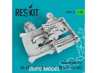 ResKit Kit RSU35-0014 Queue repliable pour SH-60B, SH-60F, HH-60H, MH-60R, MH-60S 1/35