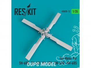 ResKit Kit RSU35-0012 Rotor de queue pour SH-60B, SH-60F, HH-60H, MH-60R, MH-60S 1/35