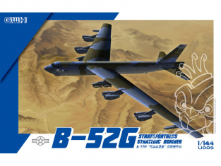 Great Wall Hobby maquette avion L1009 B-52G Stratofortress Bombardier Stratégique 1/144