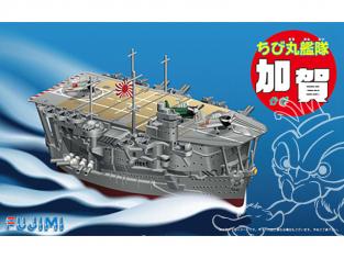 Fujimi maquette plastique bateau 422398 Porte avions japonais Kaga tiré de la bande dessiné Chibimaru