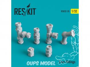 ResKit kit d'amelioration RSU32-0035 Raccords de ligne 1/32