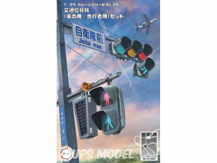 Fujimi maquette voiture camions 116457 Feux de signalisation 1/24