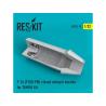 ResKit kit d'amelioration avion RSU32-0019 Tuyère pour fermée F-16 (F100-PW) Kit TAMIYA 1/32