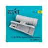 ResKit kit d'amelioration avion RSU32-0040 Tuyère F-4 (B/C/D/N) Phantom pour Kit TAMIYA 1/32