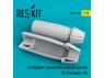 ResKit kit d'amelioration avion RSU32-0038 Tuyère fermée Eurofighter (late type) pour Trumpeter 1/32